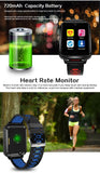 2019 LTE 4G SIM Smartwatch Android Google Market Fitness Heart Rate Blood Pressure Pedometer Cameras GPS WiFi Bluetooth Sports