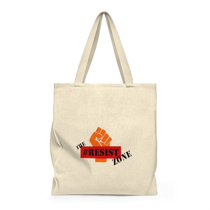 Resist Zone Tote Bag - Roomy