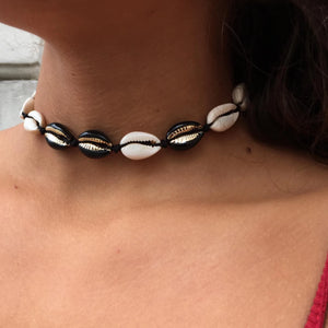 LIMITED EDITION musling choker med knyttelukning #7