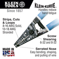 Klein Tools Wire Stripper/Cutter with Closing Lock #11054