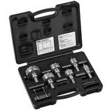 Klein Tools Master Electricians Hole Cutter Kit 8-Piece #31873