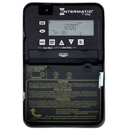 Intermatic 7-Day Electronic Time Switch #ET1705C