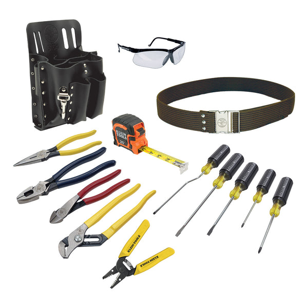 Klein Tools Electrician's Tool Set, 14-Piece #80014