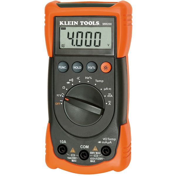 Klein Tools Auto Ranging Multimeter #MM200