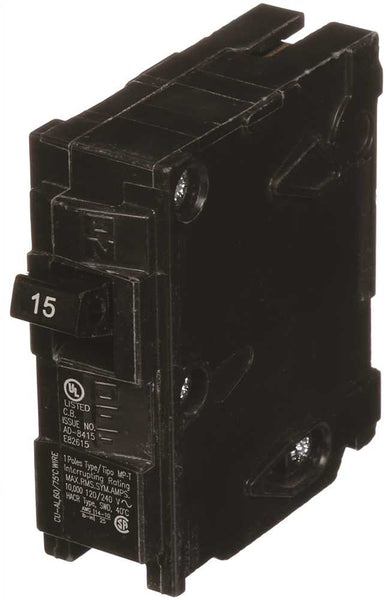 Murray Circuit Breaker, 15 Amp, 1 Pole, 120V #MP115