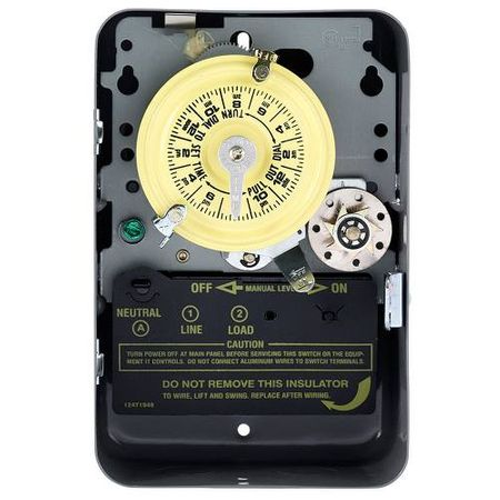 Intermatic SPST 24 Hour 125-Volt Time Switch with Indoor Enclosure #T171