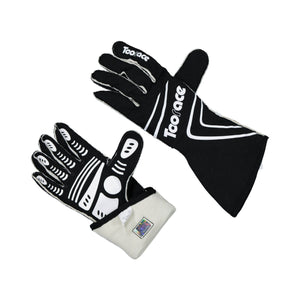 Racing Gloves - Black - FIA Approved