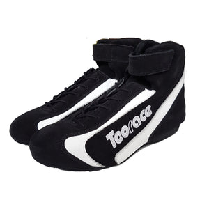 Corsa Racing Boots - Black/White - Toorace