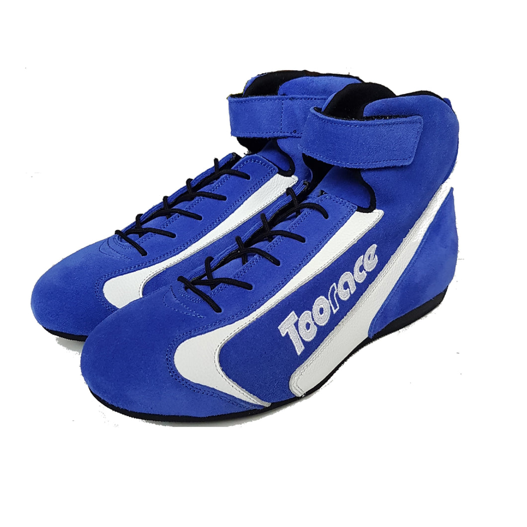 Corsa Racing Boots - Blue/White - Toorace