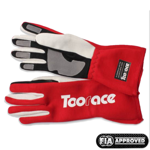 Corsa Racing Gloves - Red/White - Toorace
