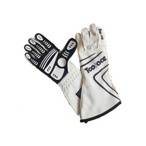 Professionista Racing Gloves - White - Toorace