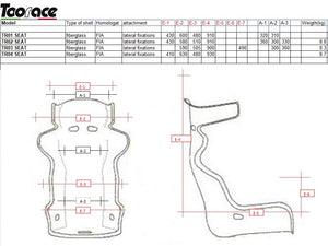 Competition Race Seat - FIA Approved - TR03