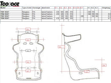 Competition (winged) Race Seat with Head Containment (Tall) - FIA Approved - TR04