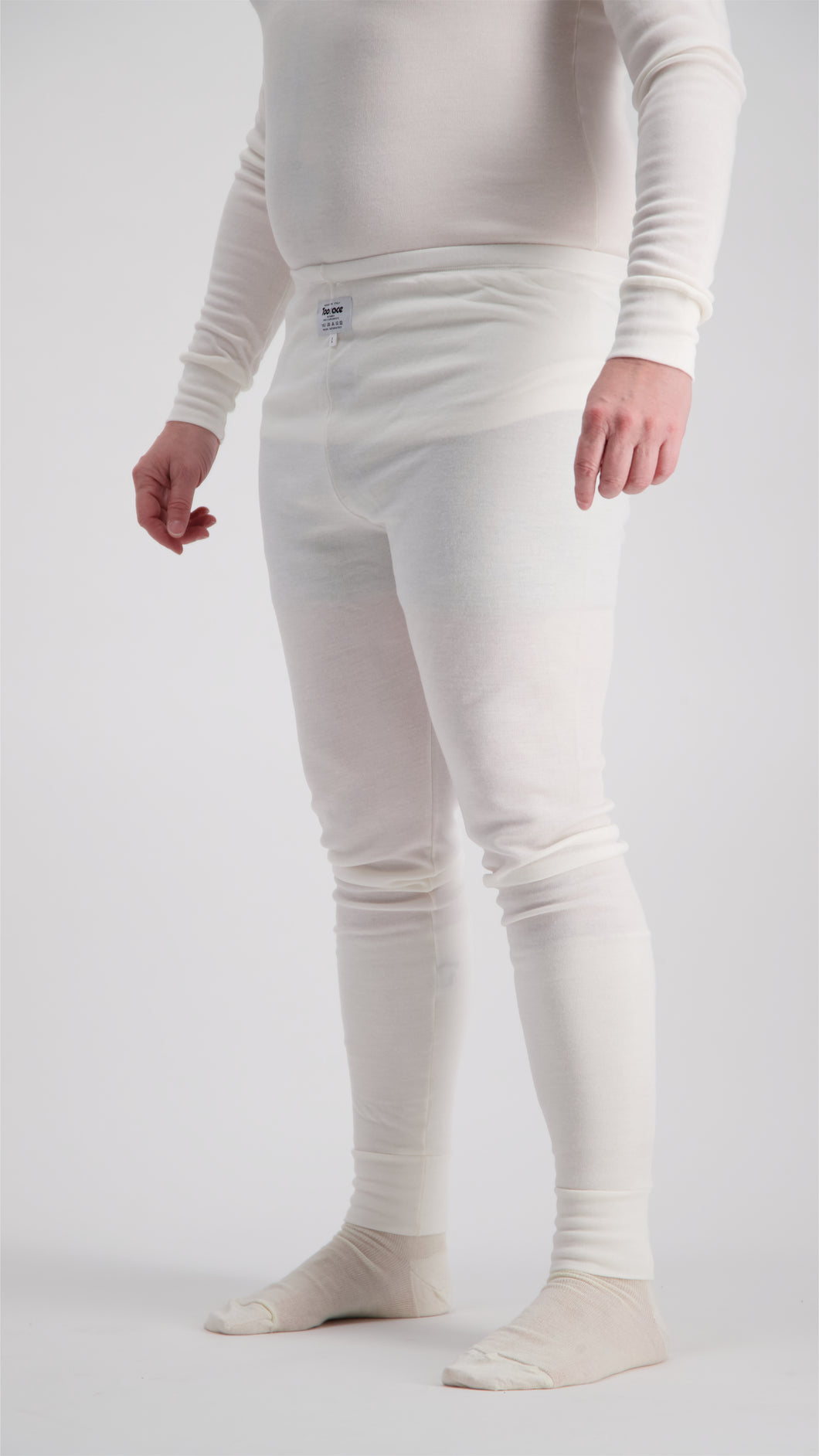 Super Soft Touch Nomex Fireproof Pants - FIA Approved - White