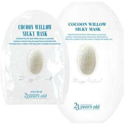 Mask - [23 Years Old] Cocoon Willow Silky Mask (10ea) - Маска с протеином шелкопряда ( 10 шт) - Adelline Beauty
