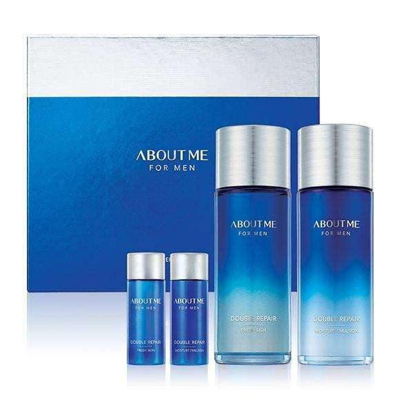 Moisturizer & Treatment - [About Me] Double Repair - For Men (Set) - Мужской набор по уходу за лицом - Adelline Beauty