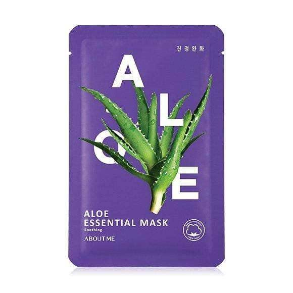 Mask - [About Me] Essential Aloe Mask - Маска с экстрактом алое - Adelline Beauty