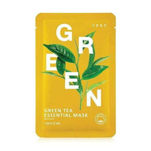 Load image into Gallery viewer, Mask - [About Me] Essential Green Tea Mask - Маска с экстрактом зеленого чая - Adelline Beauty