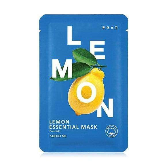 Mask - [About Me] Essential Lemon Mask - Маска с экстрактом лемона - Adelline Beauty