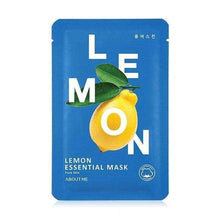 Load image into Gallery viewer, Mask - [About Me] Essential Lemon Mask - Маска с экстрактом лемона - Adelline Beauty