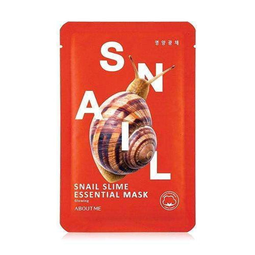 Mask - [About Me] Essential Snail Slime Mask - Маска с муцином улитки - Adelline Beauty
