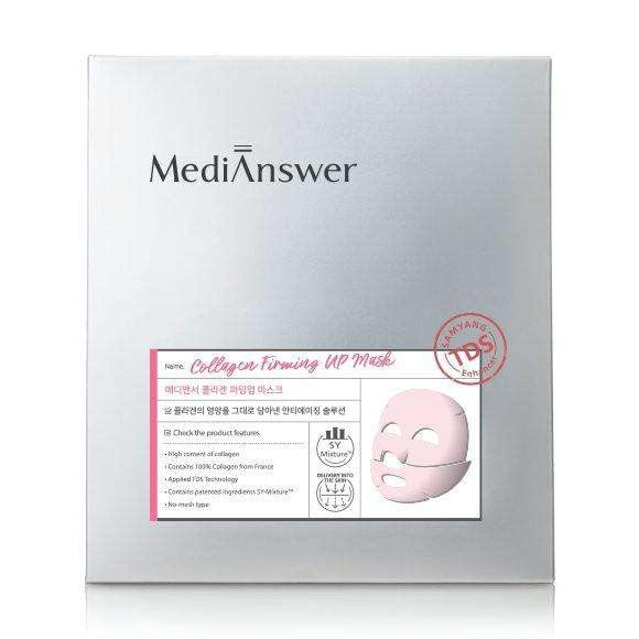 Mask - [About Me] Medianswer Collagen Firming Up Mask - Коллагеновая маска для упругости кожи лица - Adelline Beauty
