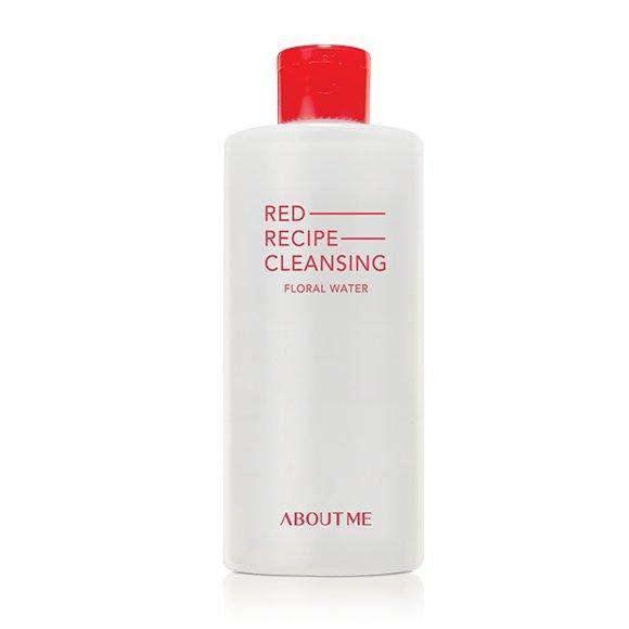 Moisturizer & Treatment - [About Me] Red Recipe Cleansing Floral Water - Мицелярная вода с цветочным экстрактом - Adelline Beauty