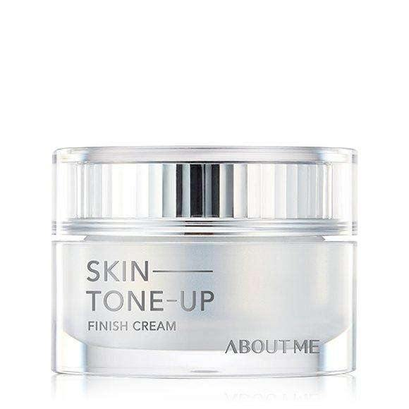 Moisturizer & Treatment - [About Me] Skin Tone Up Finish Cream (50ml) - Осветляющий крем - Adelline Beauty