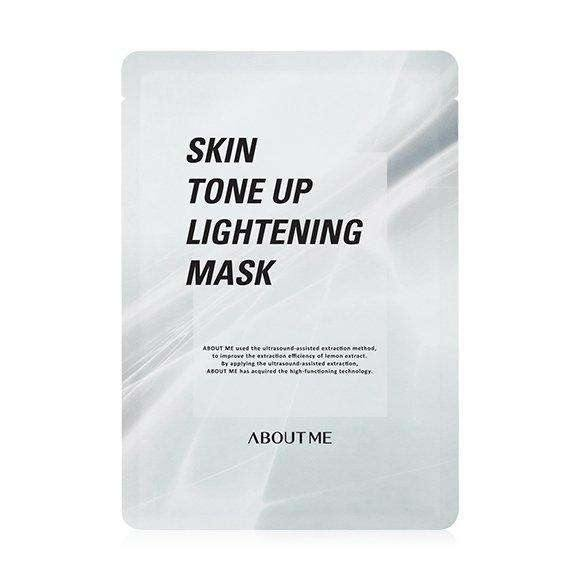 Mask - [About Me] Skin Tone Up Lightening Mask (10ea) - Осветляющая маска для лица (ma шт.) - Adelline Beauty