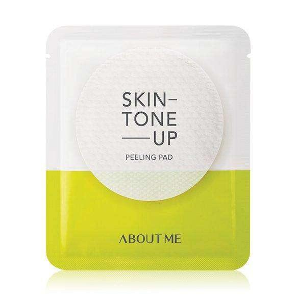 Cleanser - [About Me] Skin Tone Up Peeling Pad (7g) - Осветляющие пилинг-диски - Adelline Beauty