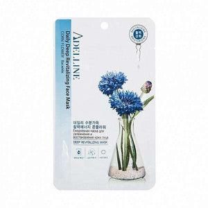 Mask - [Adelline] Facial Mask Corn Flower [22ML] - Маска для лица с экстрактом василька - Adelline Beauty