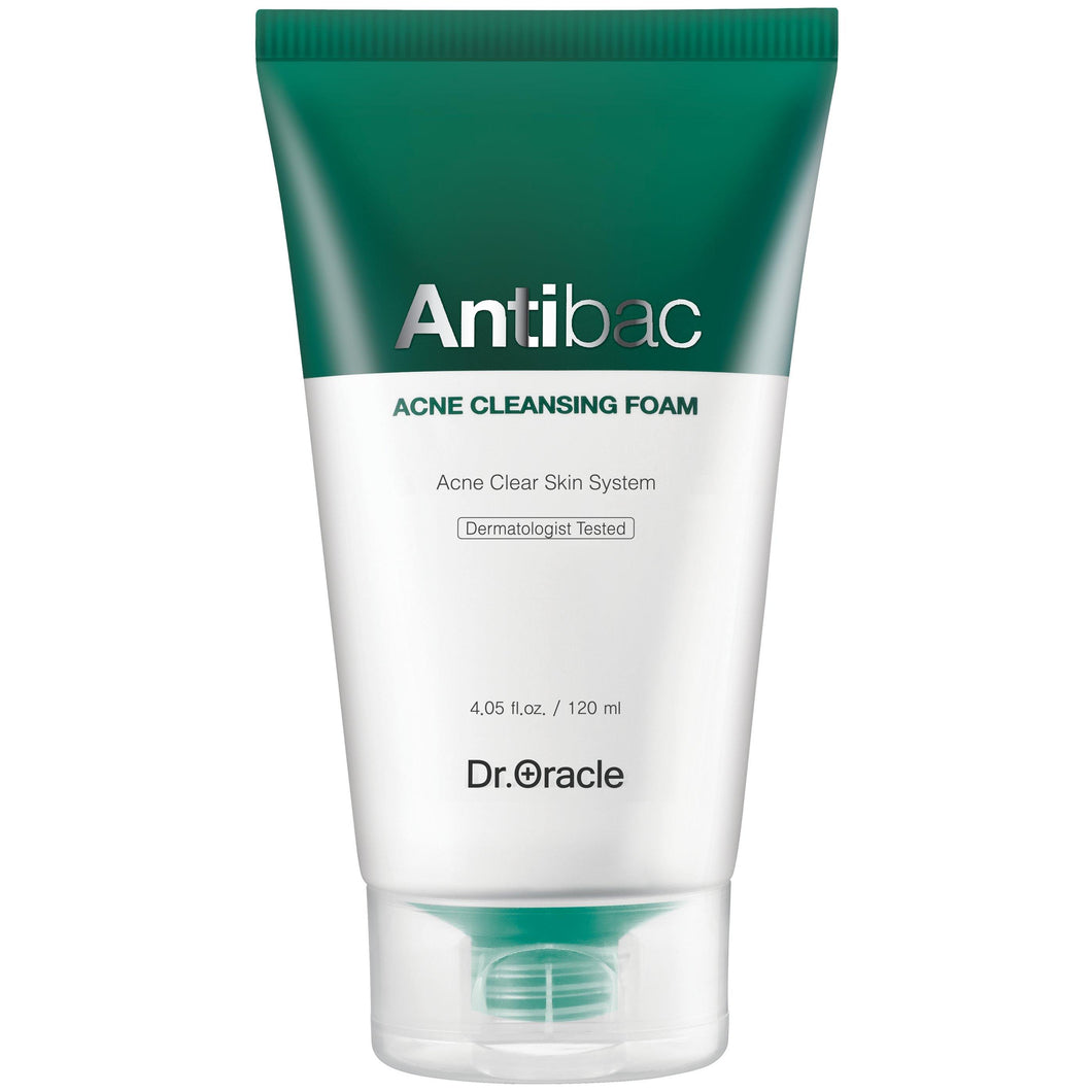 Cleanser - Antibac Acne Cleansing Foam 120ml - MyAdelline
