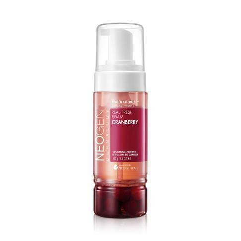 - Dermalogy Real Fresh Foam Cranberry 160g - MyAdelline