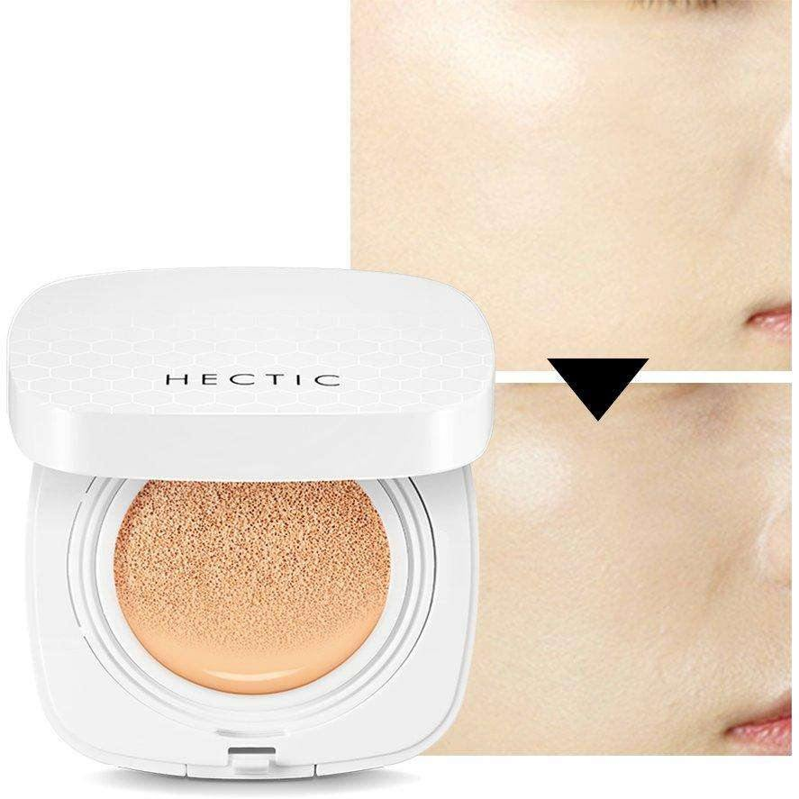 Makeup - [Hectic] Waterfull Glow PM Cushion 02 Medium Roasting - Кушон увлажняющий ( номер 02 ) - Adelline Beauty
