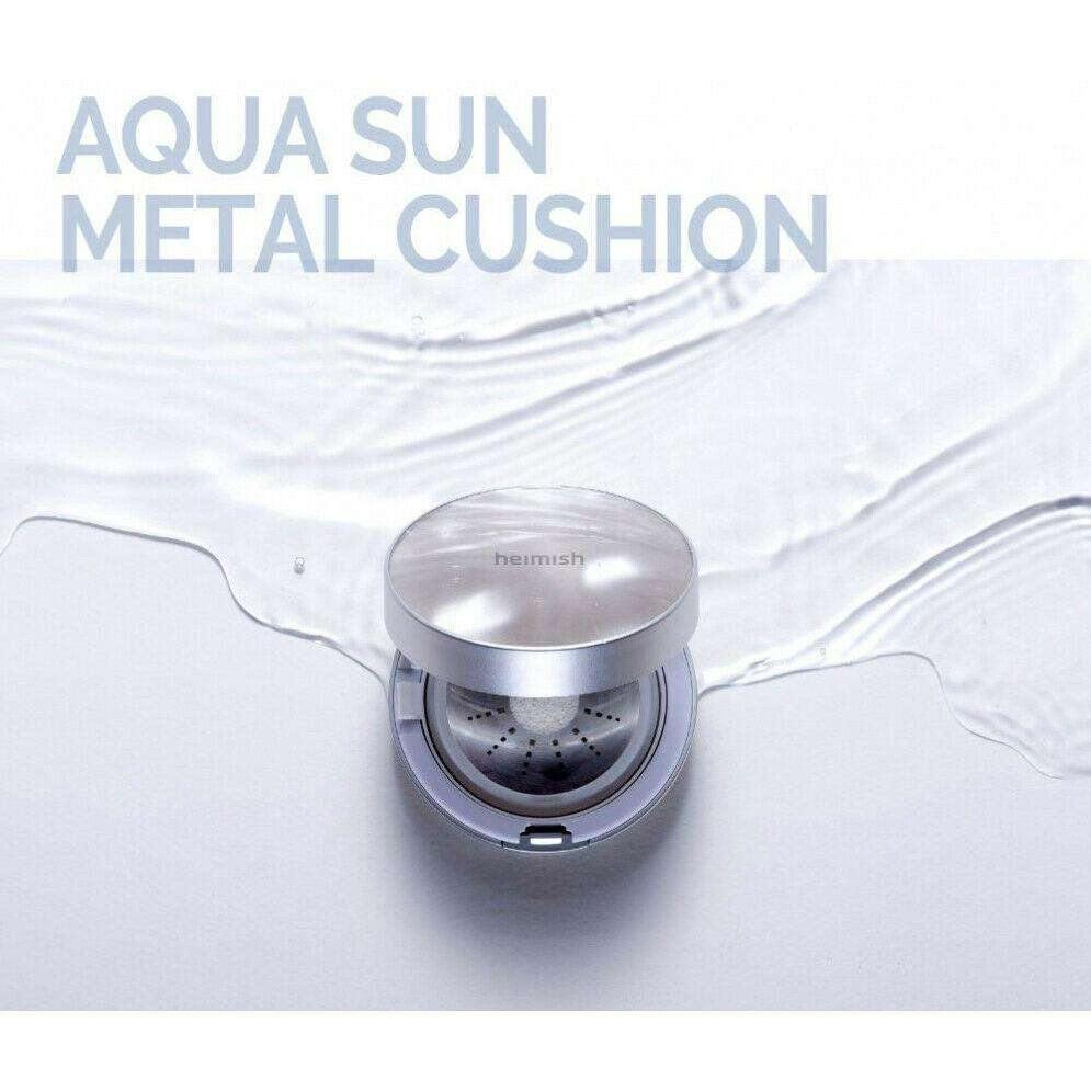 Makeup - [Heimish] Aqua Sun Metal Cushion - Кушон - Adelline Beauty