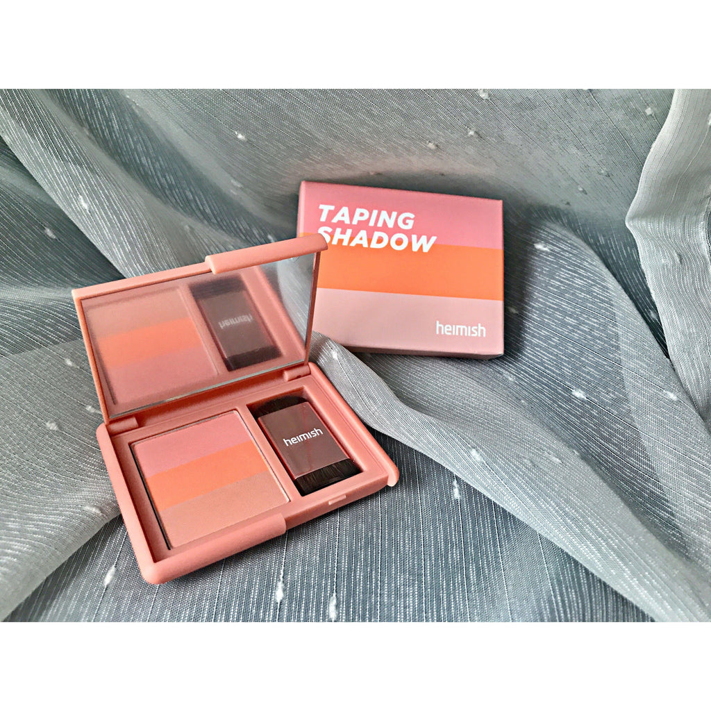 Makeup - [Heimish] Taping Shadow Peach Coral - Тени для век (персико-кораловый) - Adelline Beauty