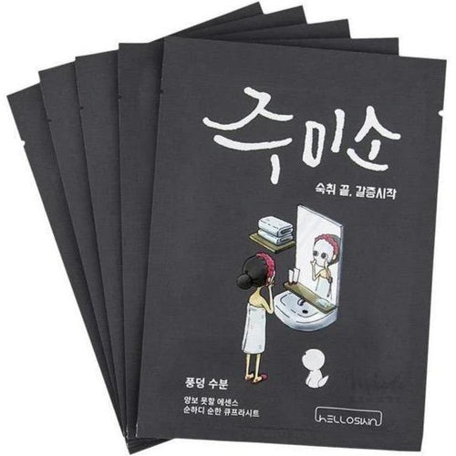Mask - [Jumiso] Helloskin Water Splash Sheet Mask (5ea) - Humidizing Face Mask (5 p.) - Адельлин Красота.