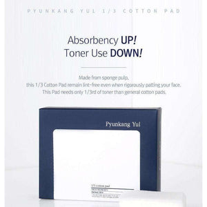 Moisturizer & Treatment - [Pyunkang Yul] 1/3 Cotton Pad [160 Sheets] - 1/3 ватным тампоном (160 шт.) - Adelline Beauty