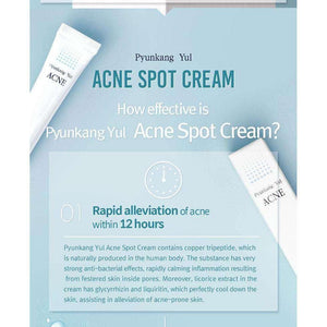 Moisturizer & Treatment - [Pyunkang Yul] Acne Spot Cream - Угри Пятно крем 15мл - Adelline Beauty