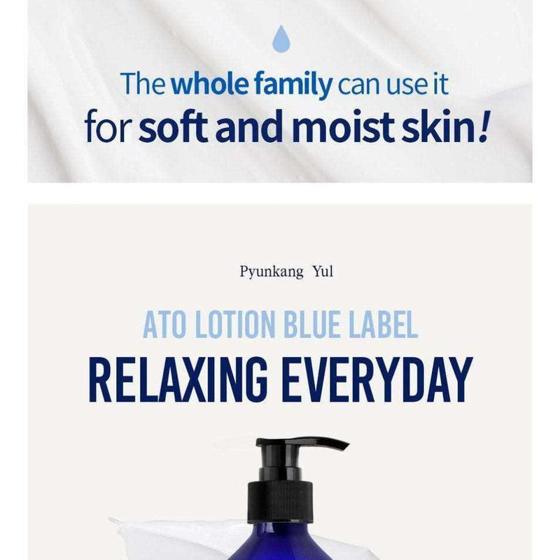 Moisturizer & Treatment - [Pyunkang Yul] Ato Lotion Blue Label [290ml] - Лосьон для атопической кожи - Adelline Beauty