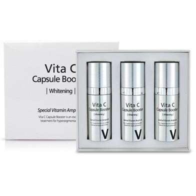 Moisturizer & Treatment - [Sferangs] Vita C Capsule Booster (100% Pure Vitamin C) [10ml*3ea] - Сыворотка c концентрированным витамином С в капсулах [10ml*3ea] - Adelline Beauty