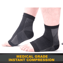 Load image into Gallery viewer, Medical Grade Compression Foot Sleeves
