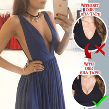 Load image into Gallery viewer, Invisible Strapless Brassie Bra Tape