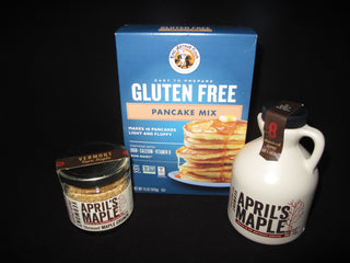 Pairing~Gluten Free Pancake Mix, Maple Crunch & Maple Syrup