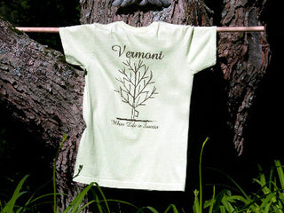 "Women's Fit T-Shirt – ""Vermont, Where Life is Sweeter"""