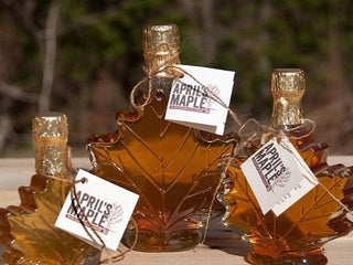 Vermont Maple Syrup-Maple Leaf