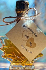 Classic Maple Leaf Wedding Favor