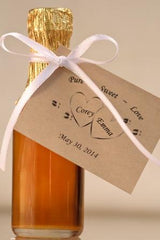 Champagne Bottle Wedding Favor