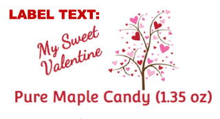 Valentine's Maple Candy - Gold Box
