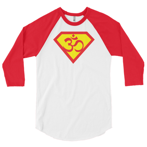 Om My! 3/4 sleeve raglan shirt